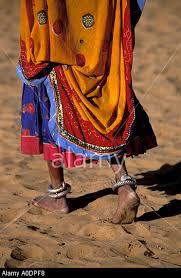 woman barefoot