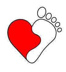 yin:yang heart:foot