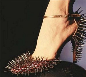Spiky-shoes